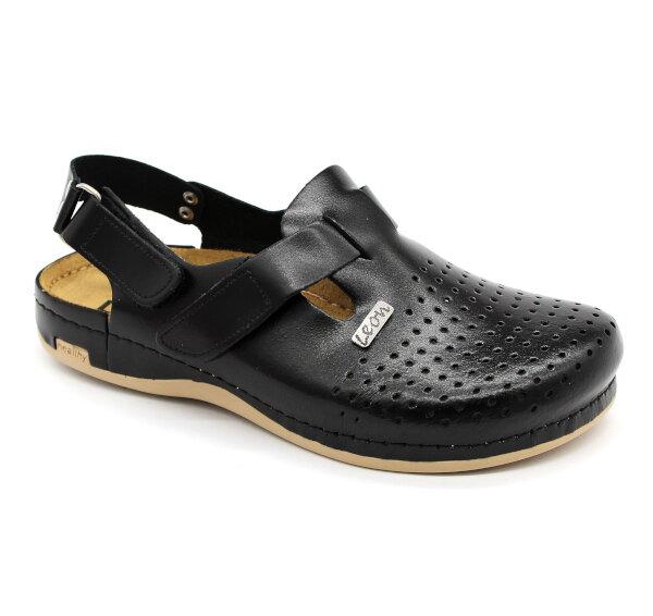 9cb7379dafae Leon 701 Pánska pracovná obuv - Čierna