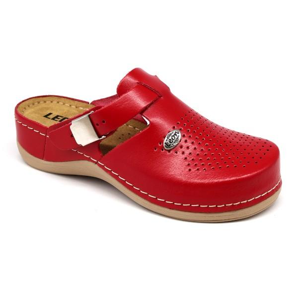 da80bdccba1c Leon 900 Dámska pracovná obuv - Červená