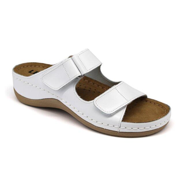 bff1c3475244 Leon 905 Dámska pracovná obuv - Biela