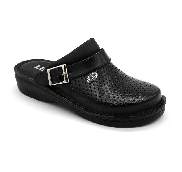 8215e80e6643 Leon V202 Dámska pracovná obuv - Čierna