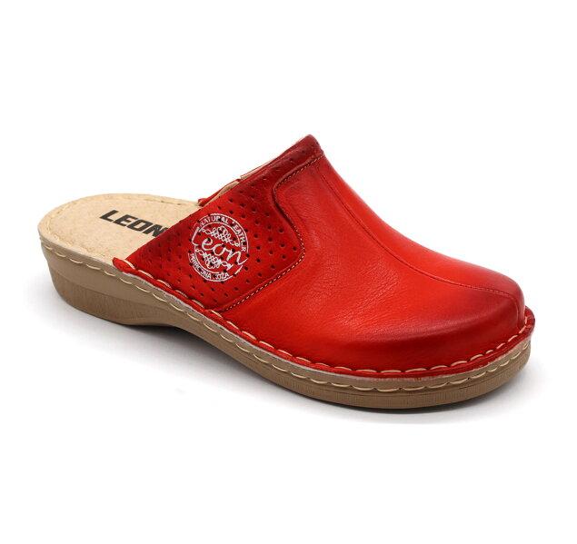 cd4c8970e9e4 Leon 360 Dámska zdravotná obuv uzavretá - Červená
