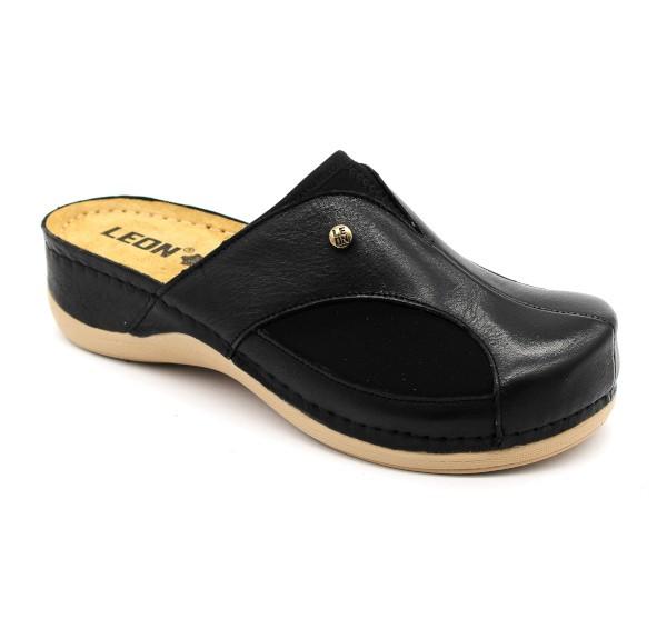 aa964f7e4617 Leon 912 Dámska zdravotná obuv uzavretá - Čierna