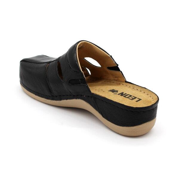 a6f7854c2ce6 Leon 925 Dámska zdravotná obuv uzavretá - Čierna