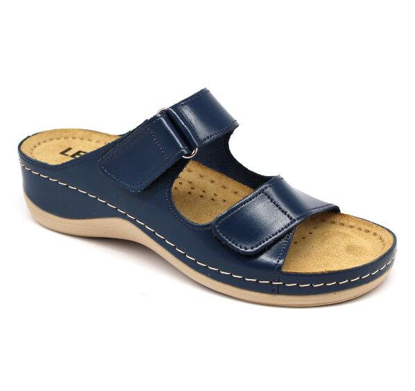 0be16c15c942 Leon 905 Dámska pracovná obuv - Modrá