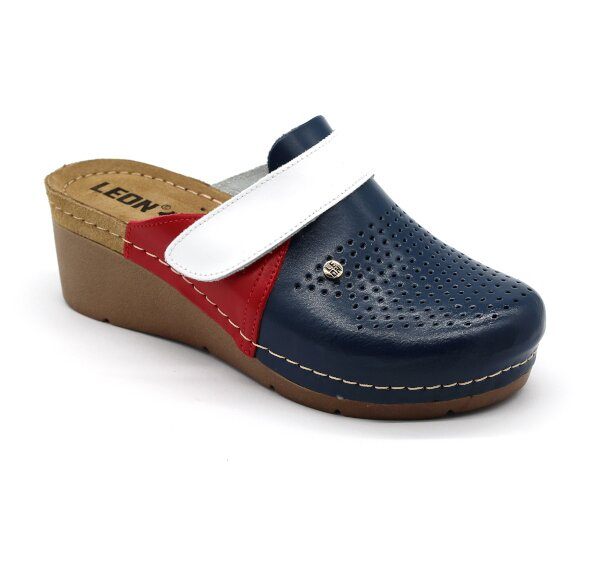 20796bca9c Leon 1001 Dámska zdravotná obuv - Klinový opätok - Tommy