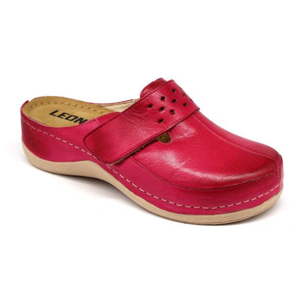 015b82771b Leon 902 Dámska zdravotná obuv uzavretá - Ružová
