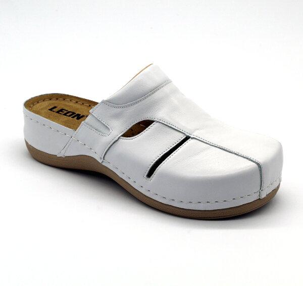 b914bb2aeb Leon 925 Dámska zdravotná obuv uzavretá - Biela