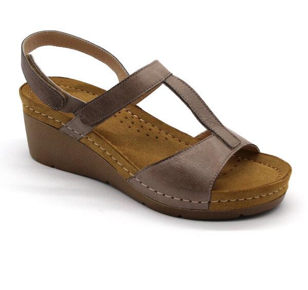 a35ad02968ac Leon 1061 Zdravotné sandále - Strieborná